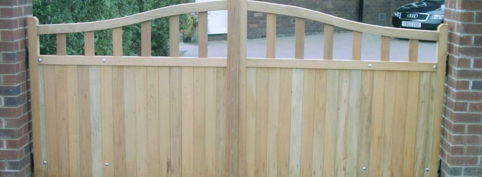 Wooden Gates | Timber Gates | Garage Doors | Garden Gates | Hardwood Gates  | UK